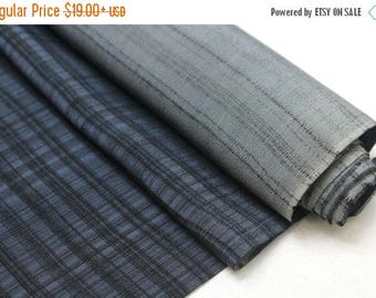 SALE Vintage Japanese Silk. Artisan Made Hand Dyed Fabric. Kimono Araihari Silk (Ref: 1547A)
