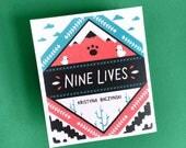 Nine Lives - Concertina Comic, Cat Zine