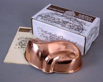 Copper Mold Vintage, Cake, Jelly, Dessert Copper Mold, Copper Mold by Revere Ware