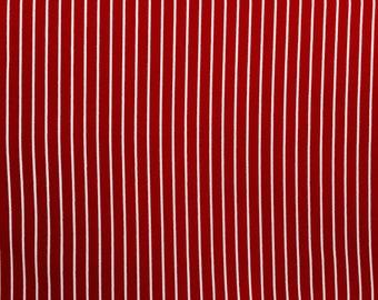 Robert Kaufman, Red and white stripes, BT-3483-2, Basics