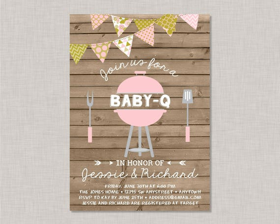 Bbq baby shower invitation baby q invitation coed baby shower il570xn filmwisefo