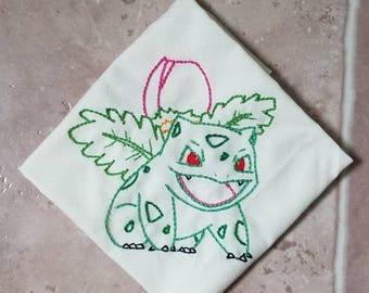Ivysaur Embroidery