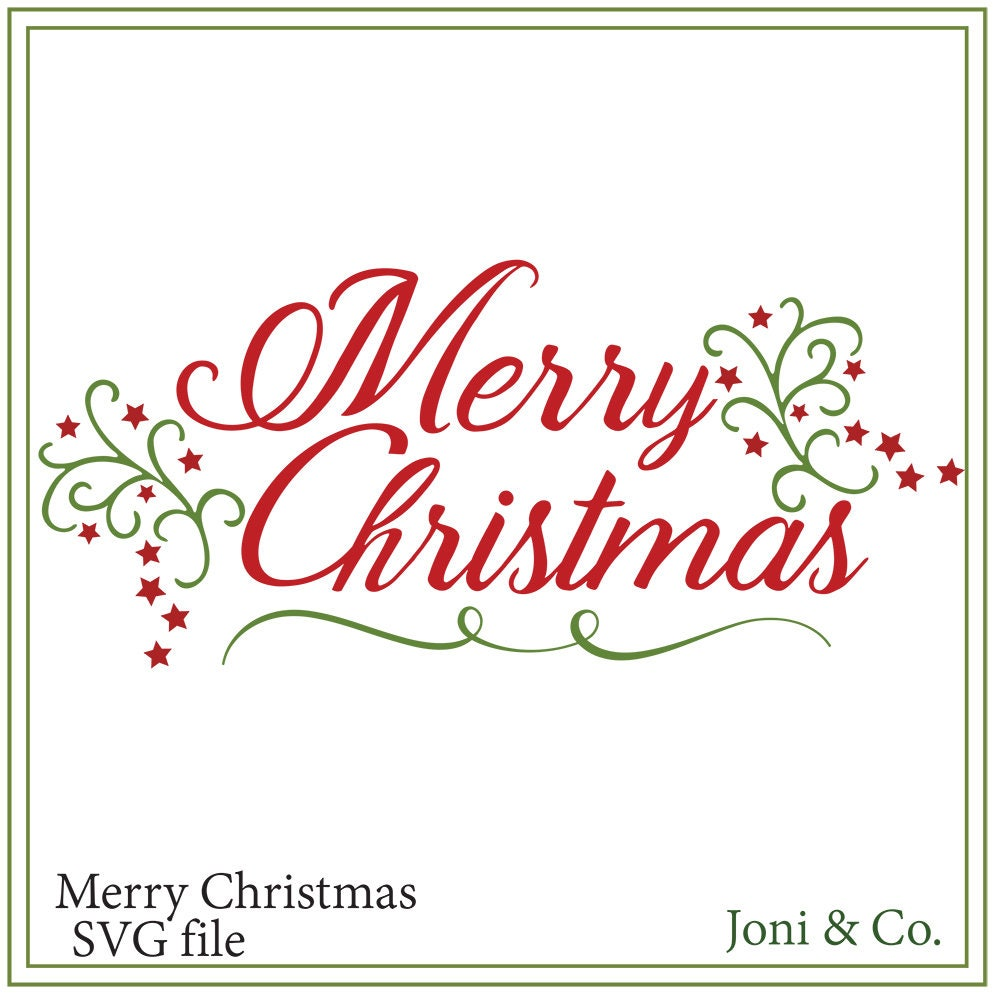 Download Christmas SVG file Merry Christmas svg Christmas cards