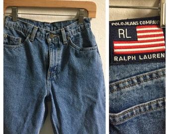 Vintage 90's Ralph Lauren High Waisted Mom Jeans