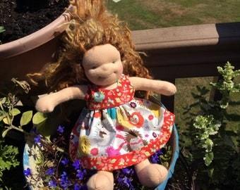 "Hedgehogs,   10-12"" slim Waldorf doll clothes"