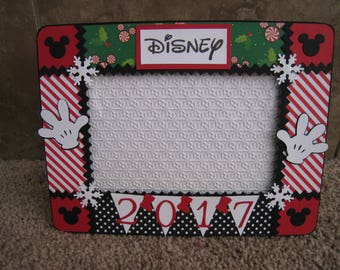 Disney Christmas Decorative Frame