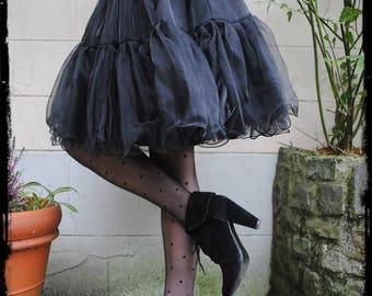 Petticoat black one size (36-42)