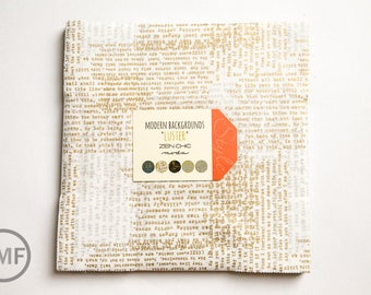 Modern Background Luster Layer Cake, Brigitte Heitland, Zen Chic, Moda Fabrics, Pre-Cut Ten Inch Fabric Squares, 1610LCM