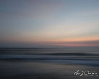Bali Sunset Note Card   impressionist photograph   Greeting Card   Card for beach lover   Beach House   Thank You
