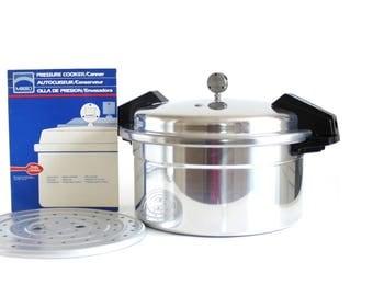 Mirro Pressure Canner 12 Qt M-0512 Aluminum Pot Pan Cooker