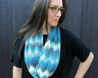 Crochet Pattern ~ Fall Infinity Scarf ~ Crochet Pattern