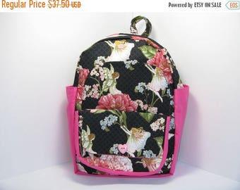 SALE Fairies & Flowers Preschool Backpack