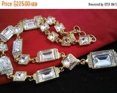 Now On Sale Vintage Crystal Necklace- Collectible Designer Signed Swan Swarovski -  1970's 1980's Retro High End Rare Jewelry