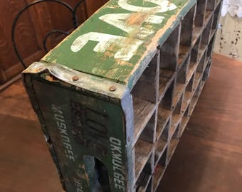 KC Love Soda Bottle Delivery Crate - Divided 24 Vintage