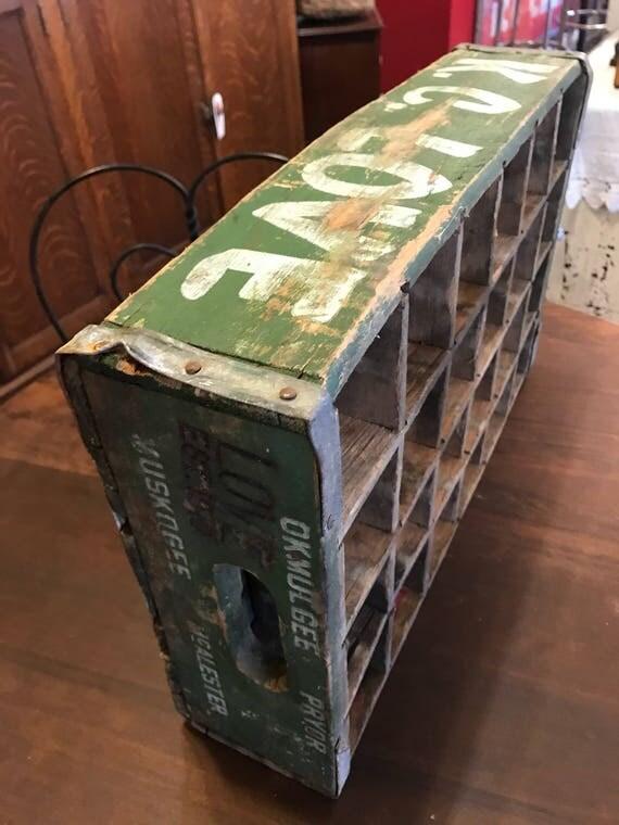 KC Love Soda Bottle Delivery Crate - Divided 24 Vintage