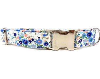 Petite Flowers Dog Collar