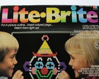 Vintage Milton Bradley Lite Brite Electric Toy 1990