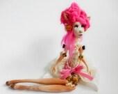 RESERVED for M/ Ooak Art Doll - Mademoiselle Jeanne- doe doll Handmade doll