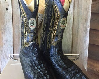 Vintage Colorful Donaldo Cowboy Boots Men's Size 9.5