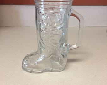 Cowboy boot mug Lone Star Beer 6 inch
