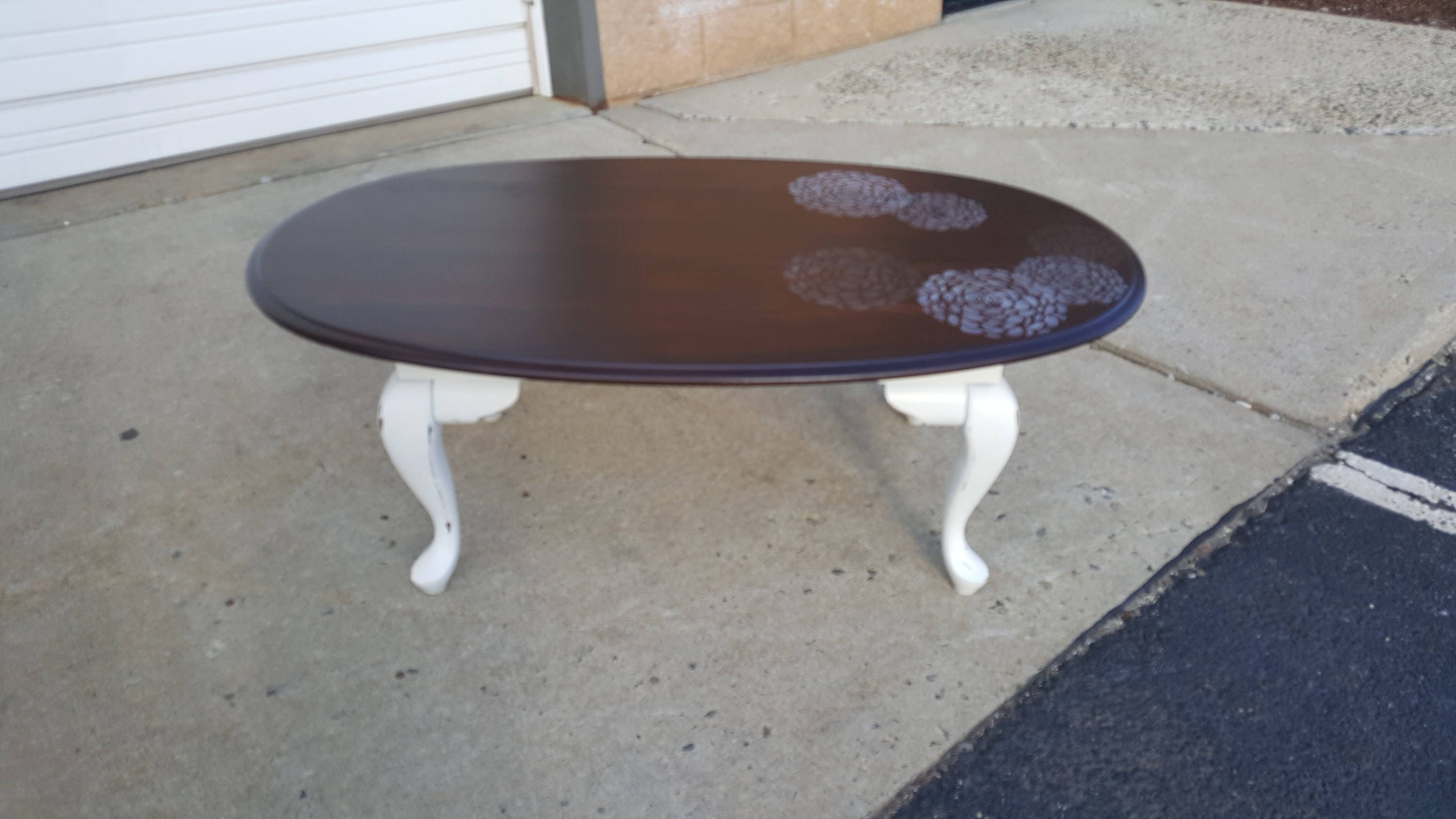 PICK UP ONLY Vintage country coffee table farmhouse cocktail