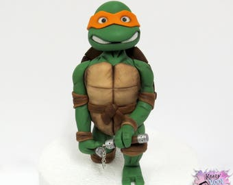 Teenage Mutant Ninja Turtle Cake Topper