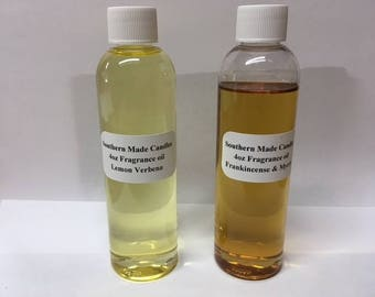 3 Pack 4 oz Southern Made Candles Fragrance oil (Free Shipping)