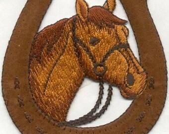 equestrian horse  -iron on applique