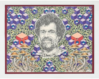 "Print of ""McKenna-cation"""