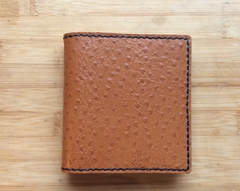 Leather Diary cover, handmade and reusable, complete with 2017 page a week Diary