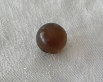 Amber Cabochon Ball Natural Amber Cognac Dominican Amber 9.6 ct Round Semiprecious Gemstone 15.6mm Am2 Take 20% Off Amber Jewelry Supplies