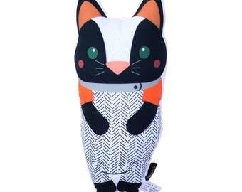 Cat Softie - Pillow, Nursery, Plush