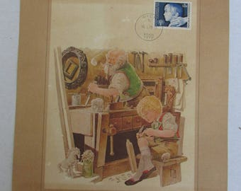 The Franklin Philatelic Society World's Great Fairy Tales First Day Cover Collection Stamp Collection 1979 Germany Austria