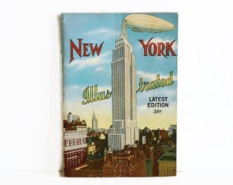 vintage New York Illustrated 1931 United Postal Card Company 1930s