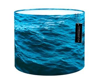 Lamp Shade - Ocean. Photography lampshade