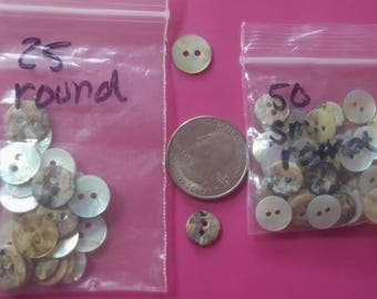 Vintage - Lot of Mother of PEARL buttons