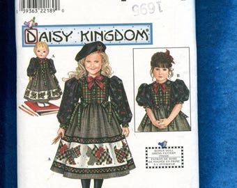 Simplicity 0669 Daisy Kingdom Highlander Girl & Doll Dress Size 3