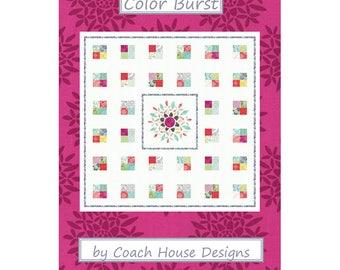 Color Burst - Paper Pattern - Coach House Designs - CHD1511