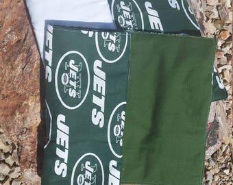 New York Jets Set of 2 Burp Cloths
