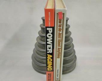 Vintage Industrial Book Ends