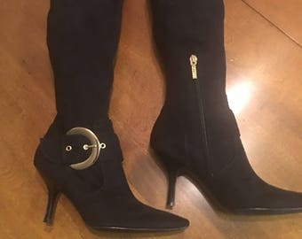 Boots, guess boots,vintage shoes, vintage boots, guess vintage clothing