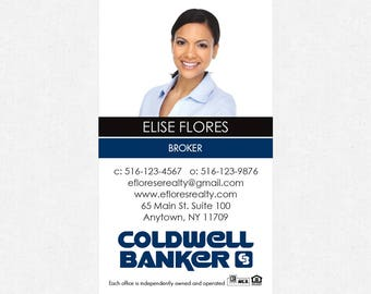 """Coldwell Banker business card magnets - 2""""x3.5""""- FREE UPS ground shipping"""