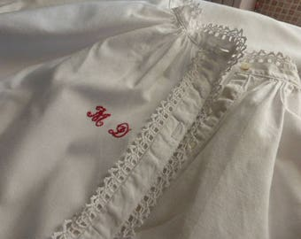 Antique Nightgown, Nightdress, Chemise,  French Circa 1920 - 1930
