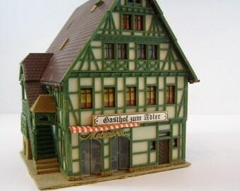 Amazing Gasthof zum Adler Inn and Butcher Shop. Start a Chalet Christmas/Snow/Ski/German Winter Mountain Village.