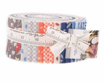 Bloomsbury Jelly Roll by  Franny Jane for Moda