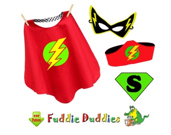 Superhero Kids Cape Pattern, Reversible Superhero Costume, Play Cape Sewing Pattern, Childrens Sewing Pattern. Digital PDF DOWNLOAD. Charlie