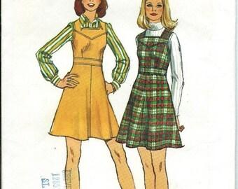 ON SALE 1970s Simplicity 5927 Misses Short Jumper Pattern, Size 16, UNCUT
