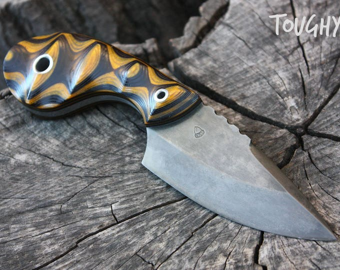 "Handcrafted FOF ""Toughy"", hunting and working blade"