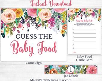 Baby food jar label   Etsy