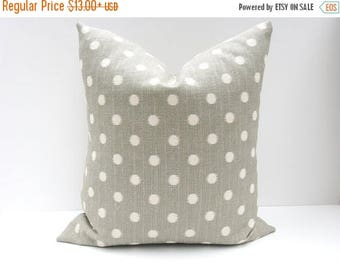 15% Off Sale Gray Pillow  Decorative Pillow Covers Ikat Pillow - Burlap Pillow - Burlap Pillow Covers - Toss Pillows -Gray Pillows - Shabby